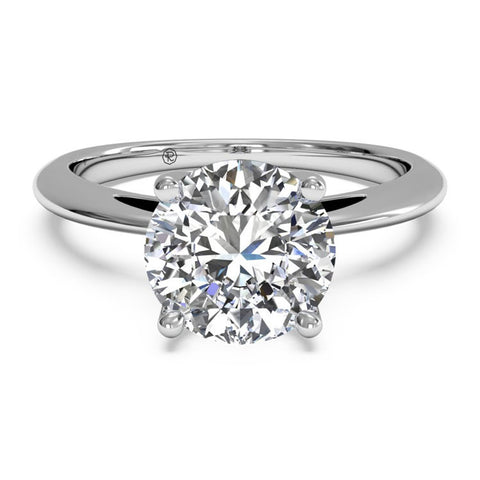 Ritani Solitaire Diamond Embellished Prong Engagement Ring 1RZ3279-4602