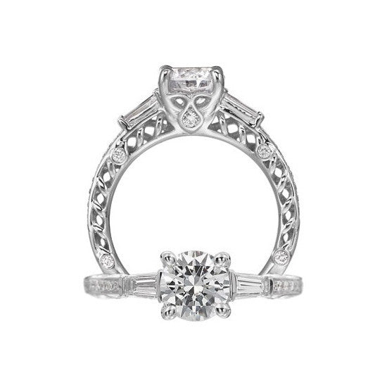 Ritani Anadaré Diamond Engagement Ring 1R4186CTBRWG