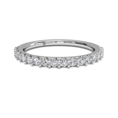 Ritani Women's 18K White Gold French-Set Diamond Ring 21323ARWG