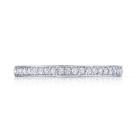 Tacori Dantela 18K Rose Gold 3/4 Way Band 2630BMDP34PK