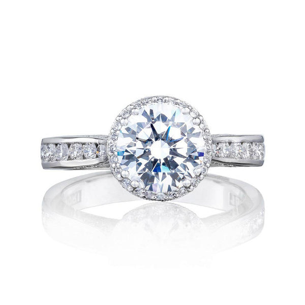 Tacori 1/2 Way Round Bloom Diamond Engagement Ring 2646-3RDR75W