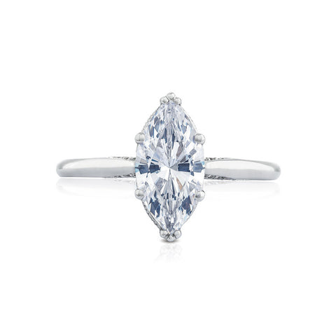 Tacori Marquise Center Solitaire Ring 2650MQ12X5