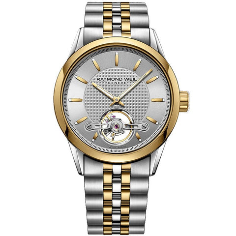 Raymond Weil Freelancer Automatic Open Balance Wheel Watch 2780-STP-65001