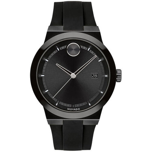 Movado BOLD Fusion 42MM Black Ion-plated Quartz Men's Watch 3600621
