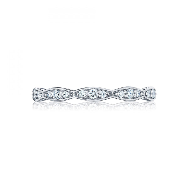 Tacori Sculpted Crescent Marquise Shape Eternity Ladies Wedding Band 46-2ETY