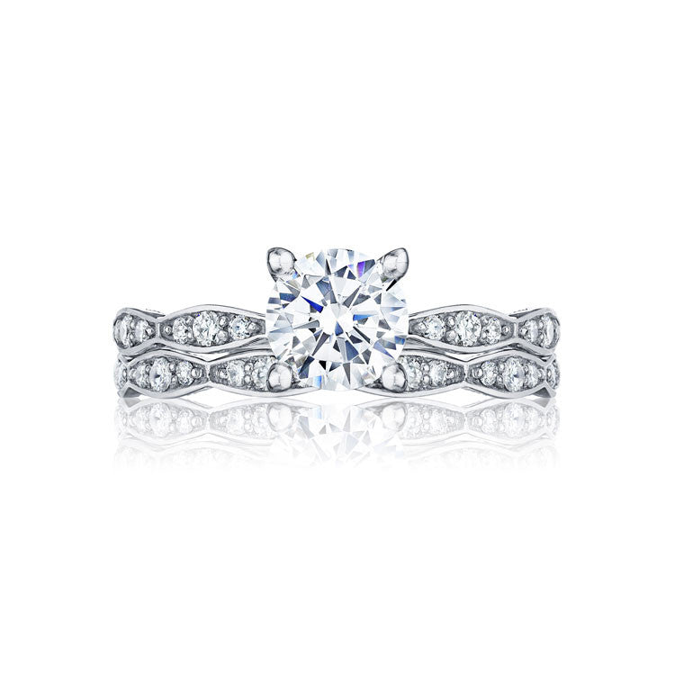 Tacori Marquise Shape 1/2 Way Diamond Engagement Ring 46-2RD65W