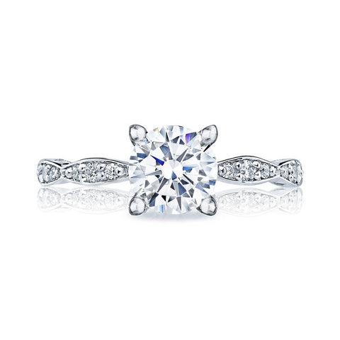Tacori Platinum Marquise Shape 1/2 WAY Diamond Engagement Ring 46-2RD7