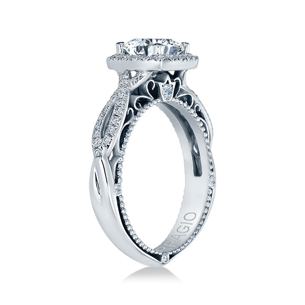Verragio Cushion Halo Diamond Engagement Ring VENETIAN-5005CU