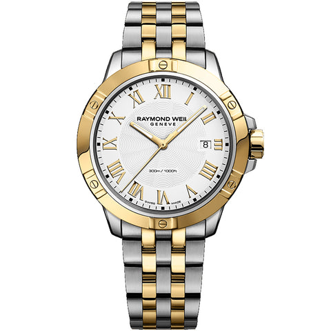 Raymond Weil Tango Two Tone Swiss Quartz Men's Watch 8160-STP-00308