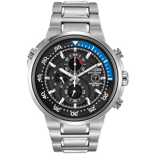 Citizen Endeavor Chronograph Stainless Steel Men's Watch CA0440-51E