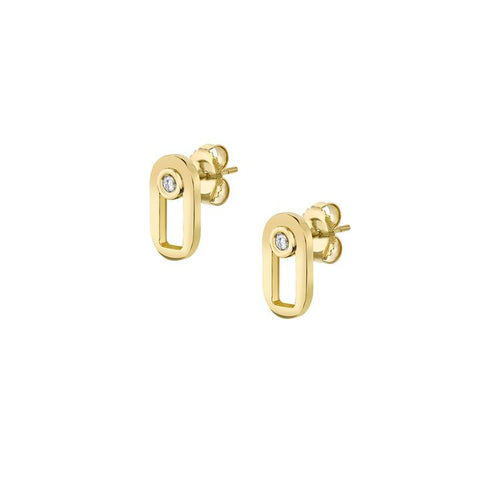 Michael M 14K Yellow Gold Singleton Stud Earrings ER354