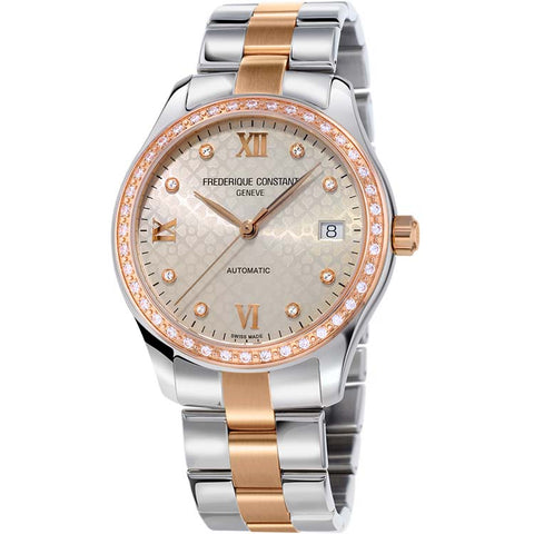 Frederique Constant Double Heart Beat Women's Watch FC-303LGD3BD2B