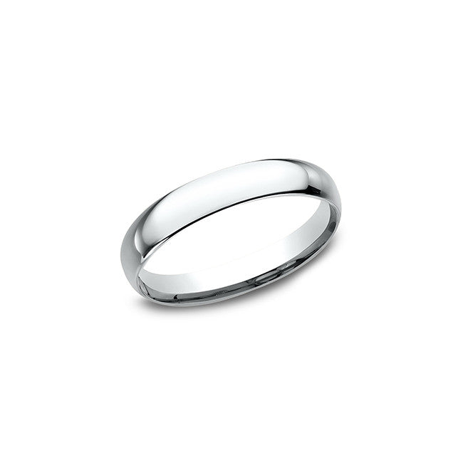 Benchmark Comfort Fit 3mm 14K White Gold Wedding Band LCF13014KW