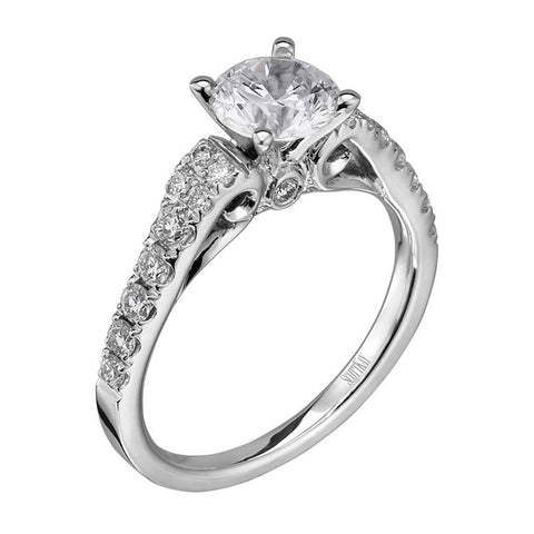 ScottKay Radiance 14K White Gold Ladies Ring M1724R310