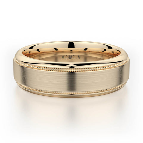 Michael M Men's Wedding Band MB101