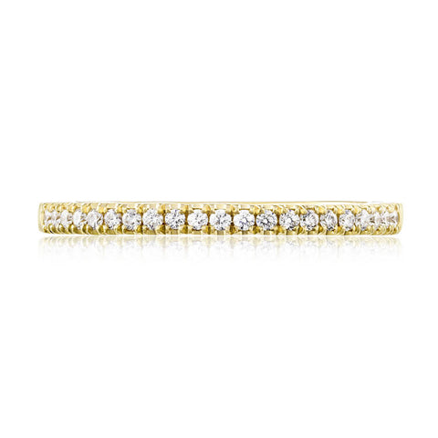 Tacori Coastal Crescent 14K Yellow Gold Diamond Wedding Band P104BFY