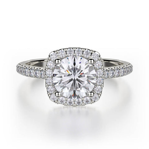 Michael M EUROPA Diamond Engagement Ring R539S-1