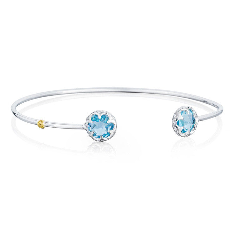 Tacori Sonoma Skies Crescent Bezel Cuff Sky Blue Topaz Bangle SB20102