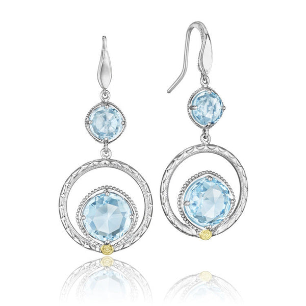 Tacori Island Rains Gem Ripple Earrings SE14902