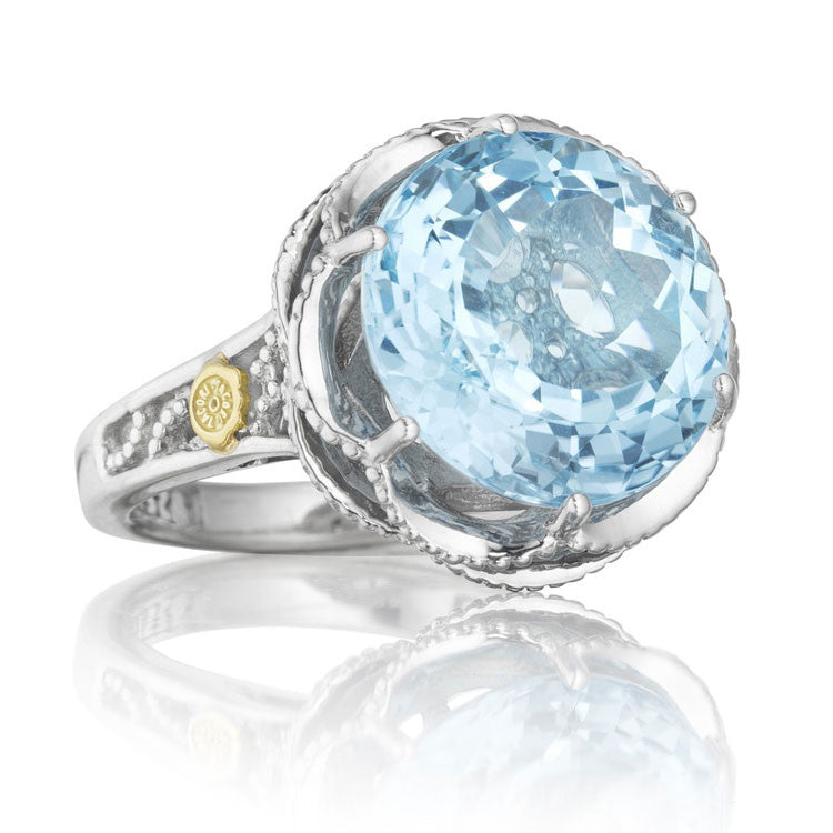 Tacori Island Rains Crescent Gem Ring SR12302