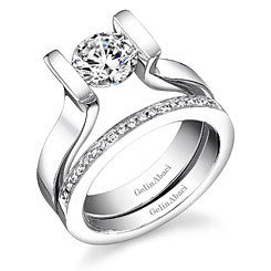 Gelin Abaci Tension Engagement Ring TR-231A