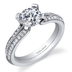 Gelin Abaci Tension Diamond Engagement Ring TR-237A
