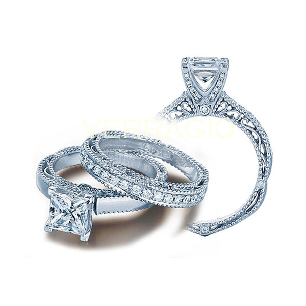 Verragio Venetian Princess Center Engagement Ring VENETIAN-5009P-3
