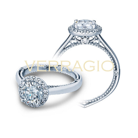 Verragio Halo Diamond Engagement Ring VENETIAN-5042R