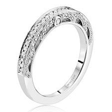 Scott Kay Parisi 14K White Gold Diamond Wedding Band B2010R310