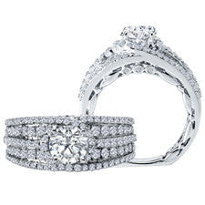 Sandra Biachi Diamond Engagement Ring BL220