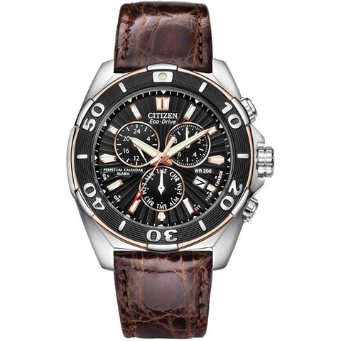 Citizen Men's Perpetual Calendar Chronograph Watch BL5446-01E