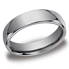 Benchmark Traditional Tungsten Men's Wedding Band CF160TG