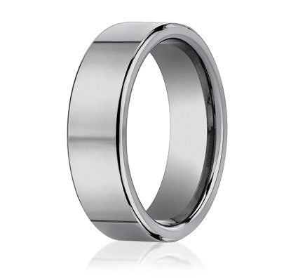 Benchmark Traditional Tungsten Men's Wedding Band CF270TG