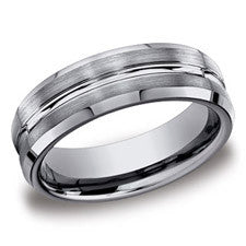 Benchmark Tungsten 7mm Men's Wedding Band CF67439TG