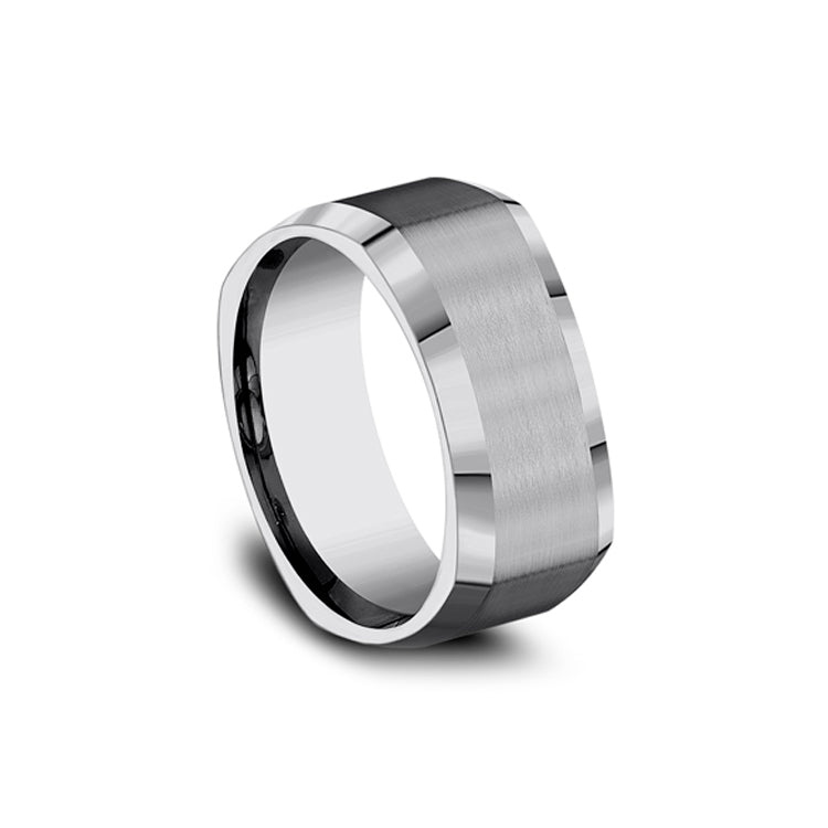 Benchmark Comfort-Fit Tungsten 9mm Men's Wedding Band CF69480TG
