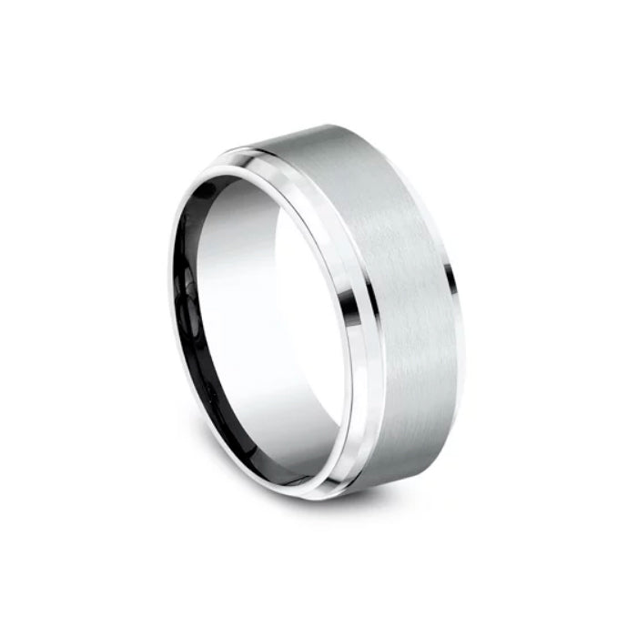 Benchmark Cobalt Chrome Comfort-Fit 9MM Men's Wedding Band CF69486CC