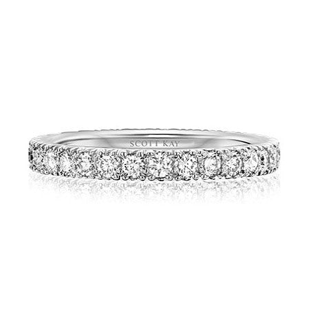 Scott Kay Platinum Eternity Wedding Band EB103R310