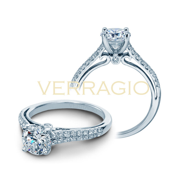 Verragio Round Center Diamond Engagement Ring COUTURE-0382R