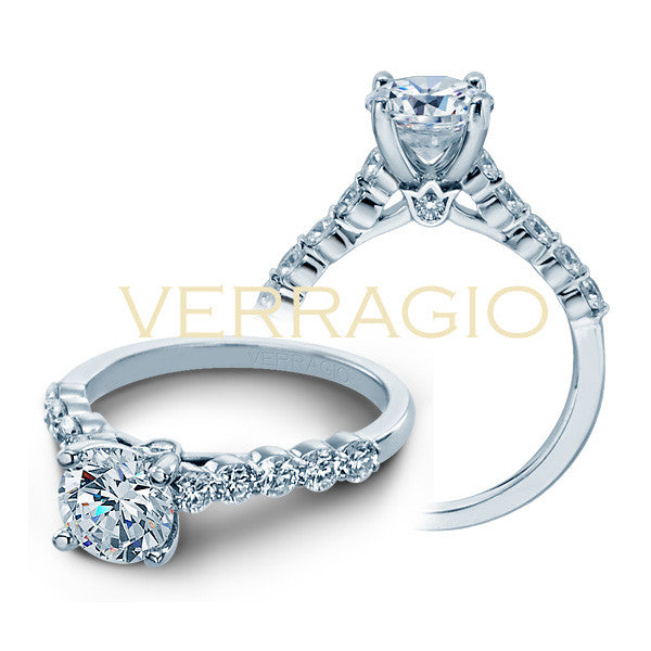 Verragio Joint-prong Set Round Brilliant Diamonds Engagement Ring COUTURE-0410SR
