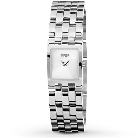 Citizen Jolie Women's Eco Drive Stainless Steel Watch EX1300-51A