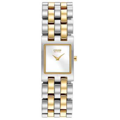 Citizen Jolie Two Tone Eco Drive Women's Watch EX1304-51A