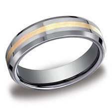 Benchmark Tungsten 6mm Men's Wedding Band EYCF66426TG