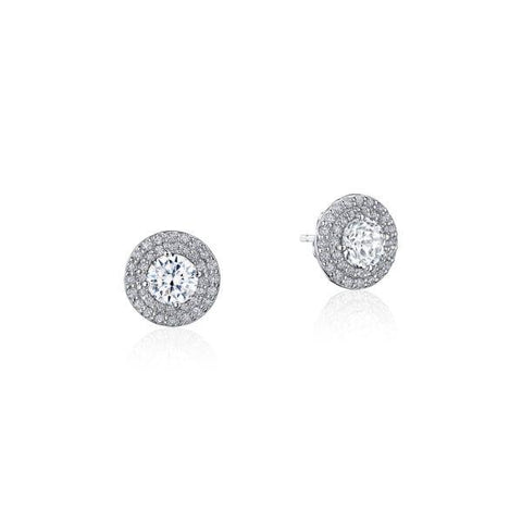 Tacori Double Bloom Diamond Earring FE810RD65