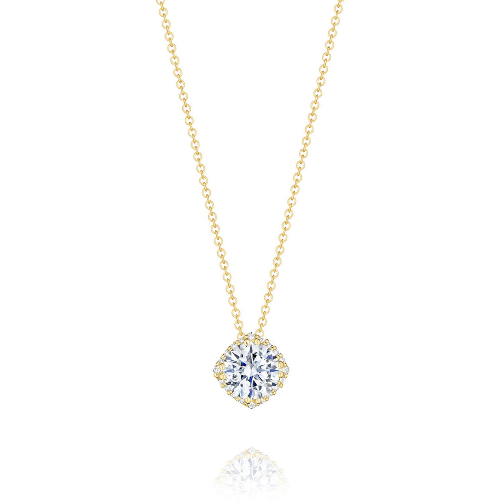 Tacori Encore 18K Yellow Gold Diamond Pendant FP6437Y