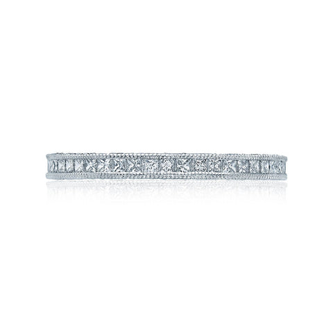 Tacori Channel-set Princess-cut Eternity Wedding Band HT2430SMBW