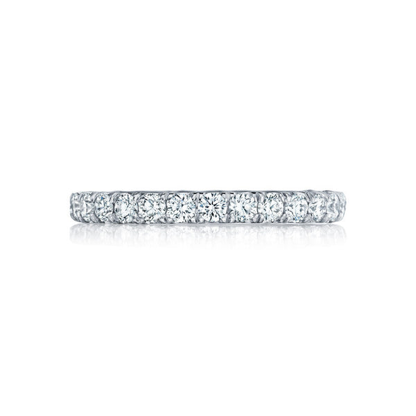 Tacori Platinum Petite Crescent Eternity Wedding Band HT254525B