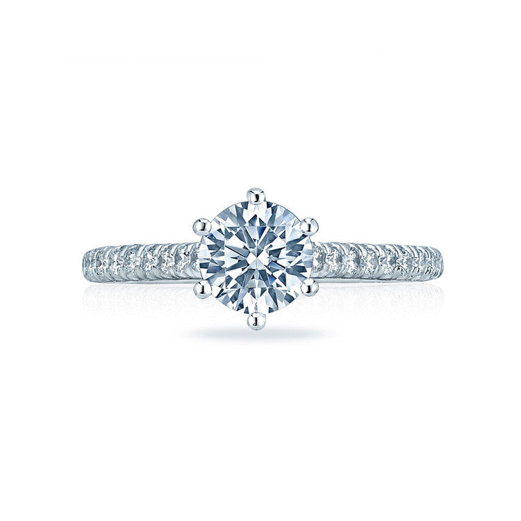 Tacori Platinum Six-prongs Diamond Engagement Ring HT2546RD75