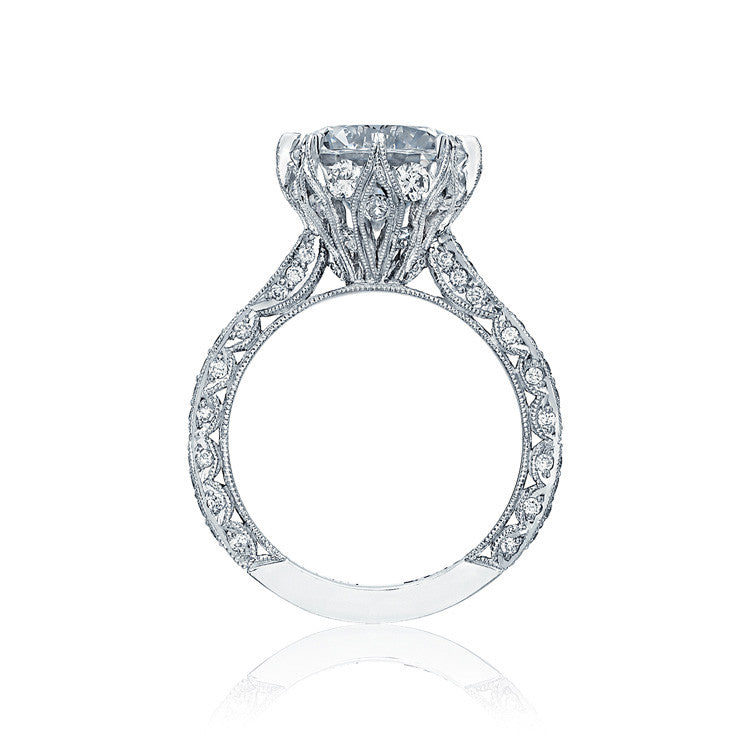 Tacori RoyalT 3/4 Way Diamond Engagement Ring HT2604RD95