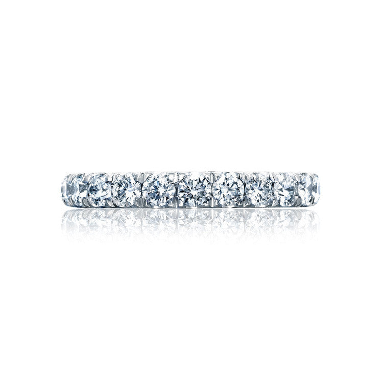 Tacori RoyalT Platinum 3/4 Way Diamond Wedding Band HT2623B34