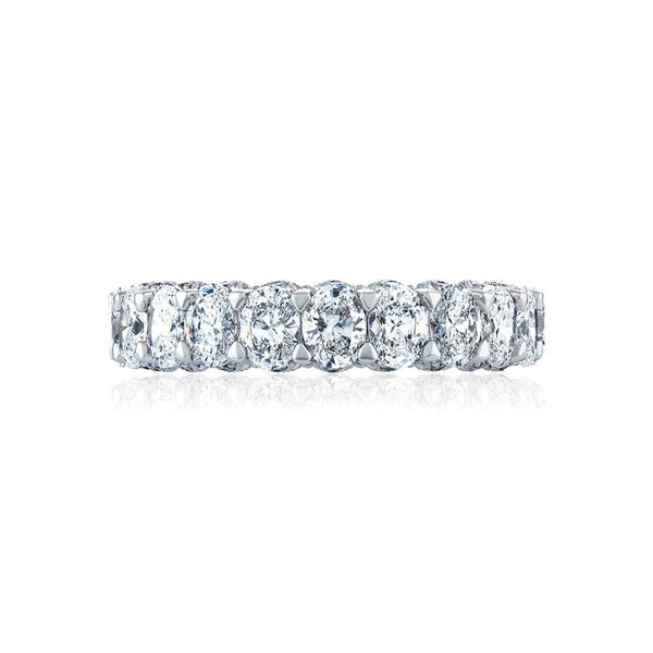 Tacori RoyalT Oval Diamond Eternity Wedding Band HT263665